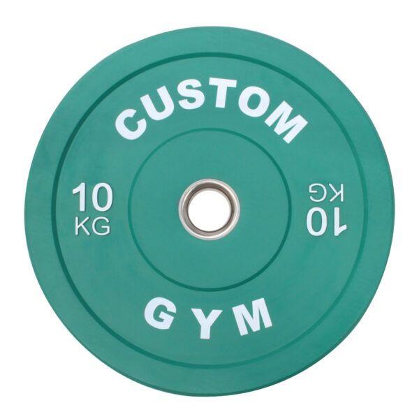 Farvet Bumper Plate 10 kg
