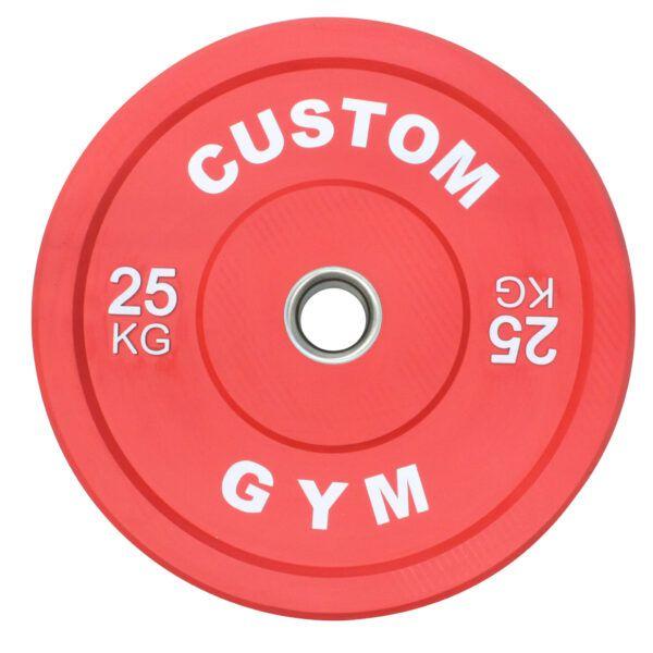 Farvet Bumper Plate 25 kg