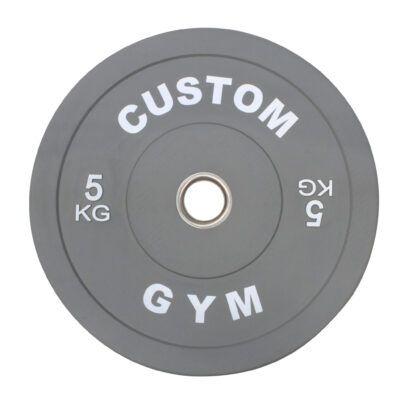 Farvet Bumper Plate 5 kg