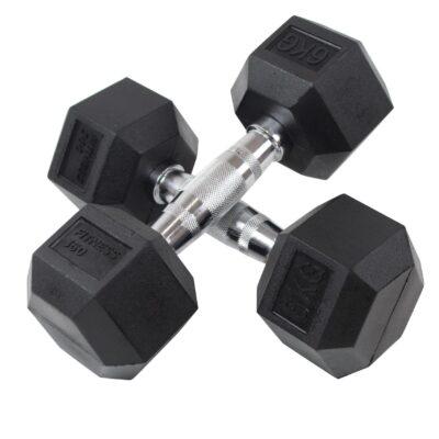 Hexagon Håndvægt - Dumbbell - 6 kg