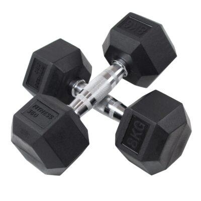 Hexagon Håndvægt - Dumbbell - 8 kg