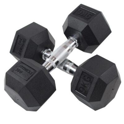 Hexagon Håndvægt - Dumbbell - 9 kg