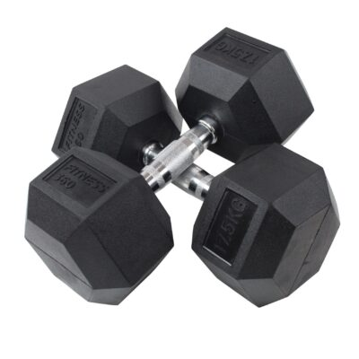 Hexagon Håndvægt - Dumbbell - 17,5 kg