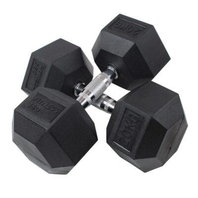 Hexagon Håndvægt - Dumbbell - 20 kg