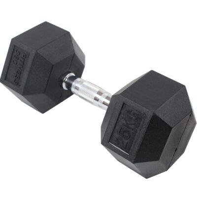 Hexagon Håndvægt - Dumbbell - 25 kg