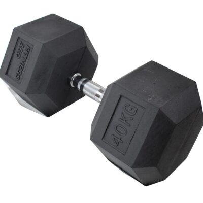 Hexagon Håndvægt - Dumbbell - 40 kg