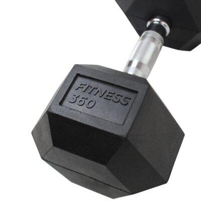 Hexagon Håndvægt - Dumbbell - 45 kg