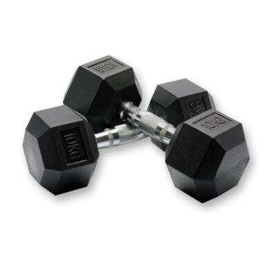 Hexagon Håndvægt - Dumbbell - 55 kg