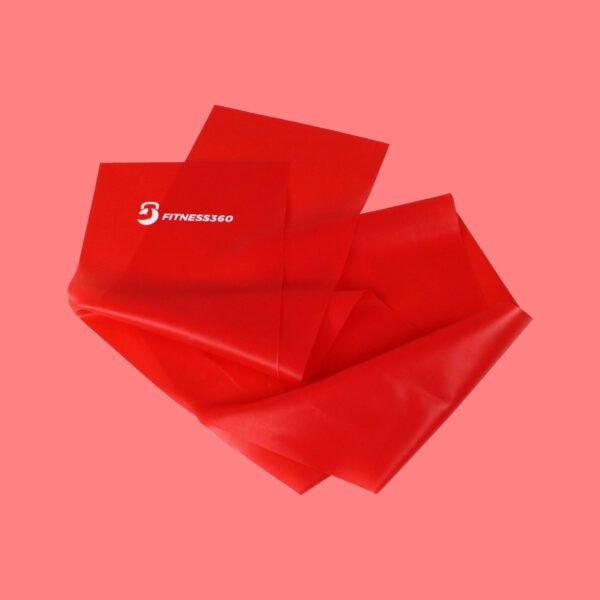 Elastikbånd - Træningsbånd Rød
